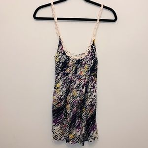 {Silence + Noise} Gorgeous Colorful Cami Top Sz S